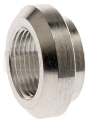Click for a larger picture of Female Aluminum NPT Weld Bung