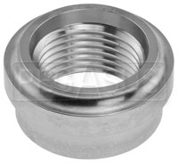Click for a larger picture of Female Aluminum AN Weld Bung (O-ring Port)