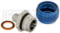 Click for a larger picture of Quick Drain Oil Pan Coupler, 1/2-20 Male
