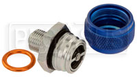 Click for a larger picture of Quick Drain Oil Pan Coupler, 14mm x 1.25 Male