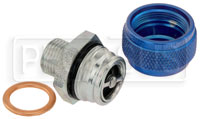 Click for a larger picture of Quick Drain Oil Pan Coupler, 5/8-18 Male