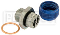 Click for a larger picture of Quick Drain Oil Pan Coupler, 7/8-14 Male