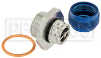 Click for a larger picture of Quick Drain Oil Pan Coupler, 1 1/16-12 Male