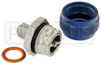 Click for a larger picture of Quick Drain Oil Pan Coupler, 12mm x 1.5 Male