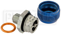 Click for a larger picture of Quick Drain Oil Pan Coupler, 14mm x 1.5 Male
