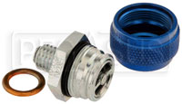 Click for a larger picture of Quick Drain Oil Pan Coupler, 12mm x 1.75 Male