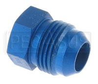 Click for a larger picture of AN806 Aluminum AN Flare Plug
