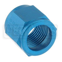 Click for a larger picture of AN818 Tube Nut (use with AN819 Tube Sleeve)