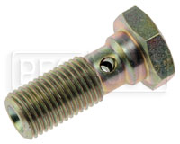 Click for a larger picture of Banjo Bolt, 3/8-24 Single, Standard (0.98 Shank)