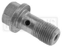 "Click for a larger picture of Banjo Bolt, 10mm x 1.00 Single, Short (0.78"" Shank)"