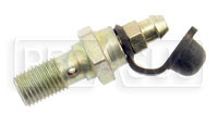 Click for a larger picture of Single Banjo Bolt with Bleeder Screw, 3/8-24 Thread