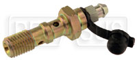 Click for a larger picture of Double Banjo Bolt with Bleed Screw, 10mm x 1.25 Thread