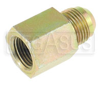 Click for a larger picture of Female NPT Pipe to Male AN Adapter
