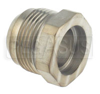 Click for a larger picture of AN Steel Tube Braze Fitting