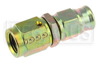 Click for a larger picture of Straight 3AN Hose End for Size 3 PTFE Brake Hose