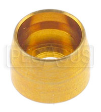 Click for a larger picture of Brass Sleeve for -3 Hose Ends (Part No. 3261-3-xxx), each