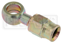 Click for a larger picture of Straight Extended Banjo #3 Hose End, 5/16 (8mm)