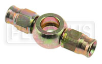 Click for a larger picture of Straight Double Banjo #3 Hose End, 3/8 inch (10mm)