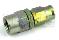 Click for a larger picture of Straight 1/8 BSP Female Hose End for -3 PTFE Brake Hose