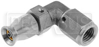 Click for a larger picture of Forged Stainless 90 degree 2AN Hose End for -2 PTFE Hose