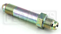 Click for a larger picture of 4AN/30 degree Inverted Flare 7/16-20 Brake Adapter-Long