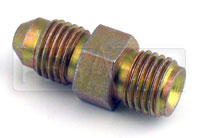 Click for a larger picture of 4AN/30 degree Inverted Flare 7/16-20 Brake Adapter-Short