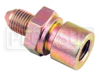 Click for a larger picture of 3AN/Female 42 degree Inverted Flare 3/8-24 Brake Adapter