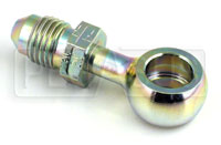 Click for a larger picture of 4AN Male to 3/8 (10mm) Long Stem Banjo Brake Adapter