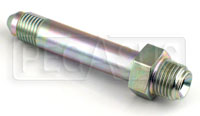 Click for a larger picture of 3AN/42 degree Inverted Flare 7/16-24 Brake Adapter-Long