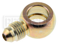 Click for a larger picture of 4AN to 12mm Single Banjo Adapter, Steel
