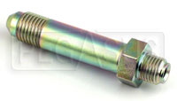 Click for a larger picture of 4AN/42 degree Inverted Flare 3/8-24 Brake Adapter-Long