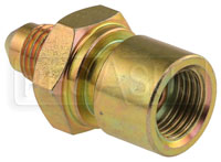 Click for a larger picture of 3AN/Female 42 degree Inverted Flare 7/16-24 Brake Adapter