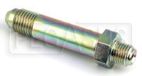 Click for a larger picture of 4AN/42 degree Inverted Flare 7/16-24 Brake Adapter-Long