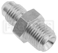 Click for a larger picture of 4AN/Male Inverted Flare 1/2-20 Brake Adapter, Steel