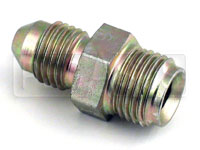 Click for a larger picture of 4AN/42 degree Inverted Flare 1/2-20 Brake Adapter-Short
