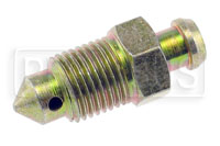 "Click for a larger picture of 10 x 1.0mm Bleeder Screw, 1.25"" overall length"