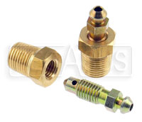 Click for a larger picture of 1/8 NPT Brake Bleeder Assembly (2 piece)