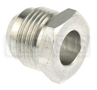 Click for a larger picture of AN971 Aluminum Male AN Weld Fitting