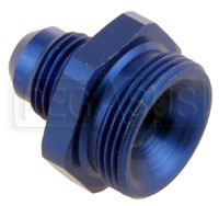 Click for a larger picture of 7/8-20 Male (Holley Dual Feed) to 6AN Male Adapter