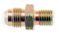 Click for a larger picture of Male 12 x 1.5mm Metric Concave Seat to 6AN Male, Steel