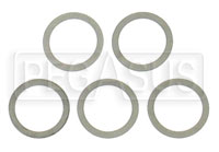 Click for a larger picture of Aluminum Crush Washers, package of 5
