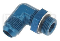Click for a larger picture of AN921 O-Ring Boss Adapter - 90' Elbow