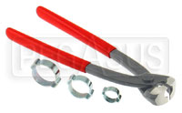 Click for a larger picture of Oetiker Clamps for Rubber Hose