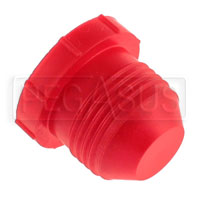 Click for a larger picture of AN Plastic Flare Plug (threaded, not push-on type)