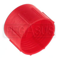 Click for a larger picture of AN Plastic Flare Cap (threaded, not push-on type)