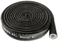Click for a larger picture of Thermo-Tec Black Firesleeve, per Inch