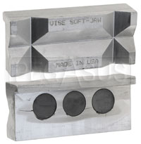 Click for a larger picture of Aluminum Vice Jaws, Pair