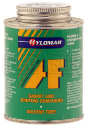 Click for a larger picture of (HAO) Hylomar Solvent Free Gasket Maker, 8oz Brush-Top Can
