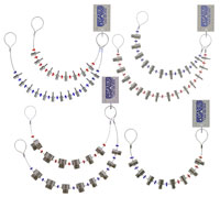 Click for a larger picture of Thread Identifier Full Set: Mini, Std, Jumbo, Lug Nut/Stud