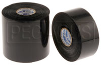 Click for a larger picture of Black Leading Edge Tape, 11 mil, 100 Foot Roll